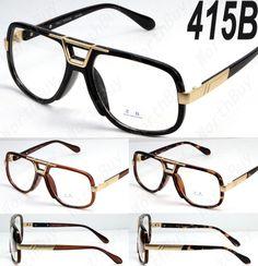 8f5640ece6 Mens Womens Dmc Square Gazelle Clear Lens Frame Fashion Glasses Designer  Club Dmc