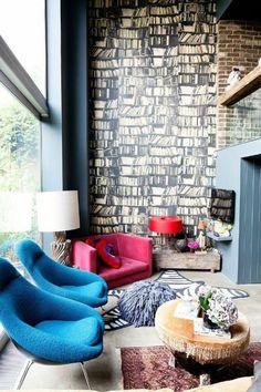 1000 bilder zu wanddekoration interior wallpapers for Coole tapetenmuster