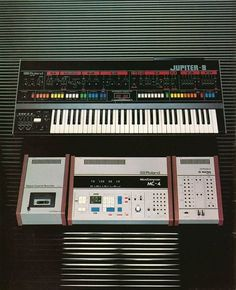 ROLAND's JUPITER Board. A popular Keyboard/Mixer in the late 1970's early 80's.