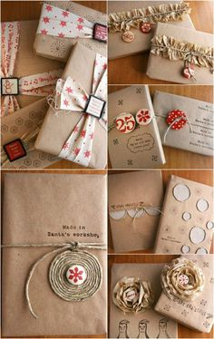 Cute & Creative Gift Wrapping Ideas You Will Adore! Cute & Creative Gift Wrapping Ideas You Will Adore The post Cute & Creative Gift Wrapping Ideas You Will Adore! appeared first on Fashion Ideas - Fashion Trends. Present Wrapping, Creative Gift Wrapping, Wrapping Ideas, Creative Gifts, Paper Wrapping, All Things Christmas, Christmas Crafts, Christmas Ideas, Christmas Christmas