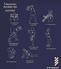 Antes de correr! Pilates Workout, Running Workouts, Running Tips, At Home Workouts, Cardio, Yoga Fitness, Fitness Tips, Fitness Motivation, Health Fitness