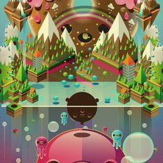 Digital art by Jonathan Ball pokedstudio