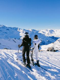The Londoner » First Day Skiing, Val Thorens