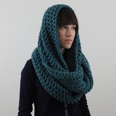Circle Scarf Infinity Scarf Snood Seaspray