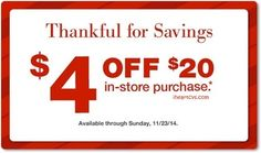 % off and purchase-based coupons issued to some customers, available until 11/23