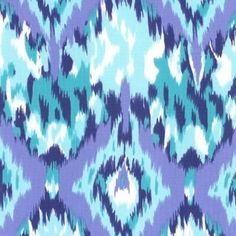 Dear Stella House Designer - Lanikai - Ikat in Blue