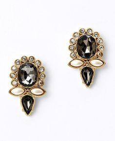 nov 2013-Crystal Marquis Cluster Stud Earrings