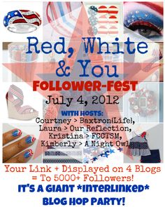 Red, White & You Follow-Fest