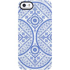 Uncommon Adventure iPhone 5/5S TS Deflector Case ($19) ❤ liked on Polyvore featuring accessories, tech accessories, phone cases, phones, iphone, cases and blue