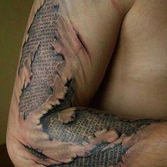 Crazy tattoo!