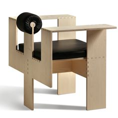 Mario Botta Chaise Morelato Armchair - This armchair has initially been donated by the famous Architect Mario Botta to the Aldo Morelato Foundation during the activities of the year Sofa Design, Chair Design Wooden, Design Furniture, Furniture Chairs, Interior Design, Muebles Art Deco, Wooden Plane, Woodworking Toys, Wood Toys