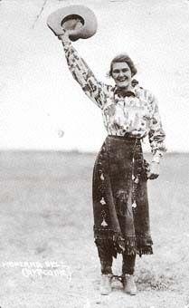 Cowgirl Montana Bell, Moffat County, Colorado