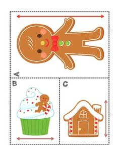 Gingerbread Measurement Unit >> Measuring and Estimating using informal units.