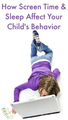 Screen time and behavior