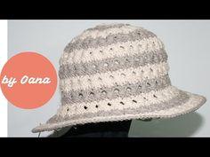 Cappello estate all'uncinetto by Oana - YouTube