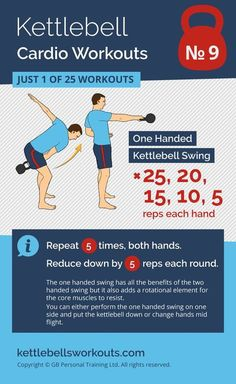 A simple but highly effective kettlebell swing workout that uses a decreasing ladder format to add motivation and reduces as you fatigue. #kettlebell #kettlebellworkout #fitness #exercise