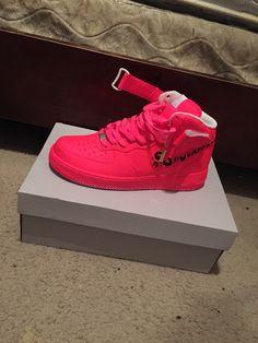 Pink AF1