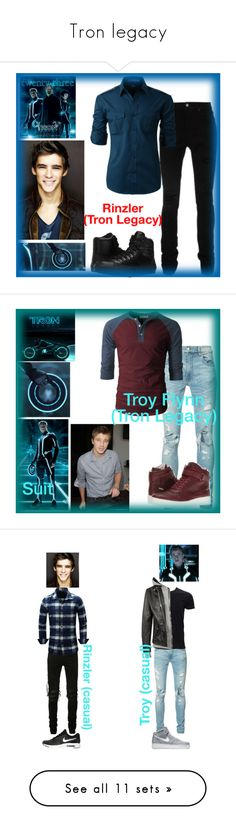 """""""Tron legacy"""" by ironkyle ❤ liked on Polyvore featuring AMIRI, LE3NO, Converse, Identity, Calvin Klein, Simplex Apparel, NIKE, Philipp Plein, Dolce&Gabbana and Yves Saint Laurent"""