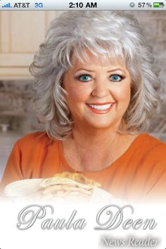 I Love Paula, If you don't like butter ,don't eat it!!