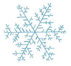 Vintage Clip Art - Pretty Snowflakes - The Graphics Fairy