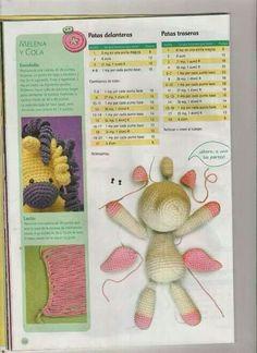 Pegaso1 Crochet Pony, Knit Crochet, Crochet Hats, Amigurumi Patterns, Amigurumi Doll, Doll Patterns, Crochet Doll Pattern, Crochet Dolls, Crochet Patterns