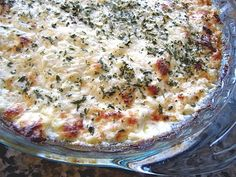 "Love this recipe - it is on our ""New Years Eve Appetizer Party"" list. Cheesy Baked Onion Dip - This dip is dangerous....I can't stop eating it. Try frozen onions for a shortcut."