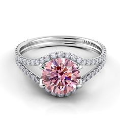 Diamond Split Shank Engagement Ring Dan Hov I want this ring!