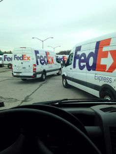 Unique Idea to Surprise Your Loved One: Largest Line of FedEx Trucks