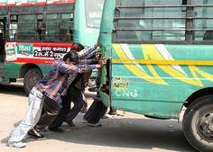 https://flic.kr/p/btWJt5 | Delhi Public Bus | Old Delhi, India