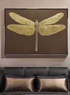 Best 12 Gold foil Painting Modern art Abstract original painting on canvas heavy texture extra Large Wall Ar – SkillOfKing. Hanging Wall Art, Diy Wall Art, Gold Wall Decor, Gold Leaf Art, Dragonfly Art, Turkish Art, Wow Art, Hand Art, Gold Paint