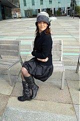 Čiapky - Plstený klobúčik alá 30-te roky(verzia aj pre dámy v okuliaroch) - 2489020