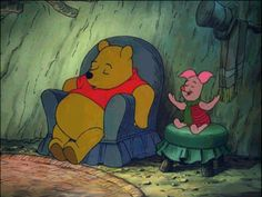 Pooh Bear's Advice to a better you.  These were great!  Especially the ones about napping and eating.