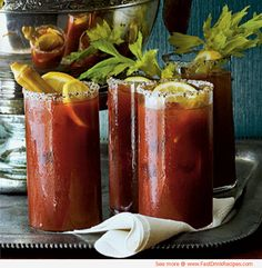 Bloody Mary Punch #Recipe