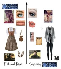 """Once Upon A Time"" by nerdbucket ❤ liked on Polyvore featuring Frame Denim, Once Upon a Time, Sportalm, Charlotte Tilbury, Blue Nile, J.TOMSON, Chicwish, Frye, women's clothing and women"
