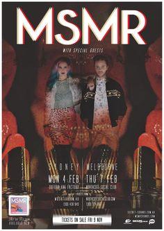 MSMR Australian shows