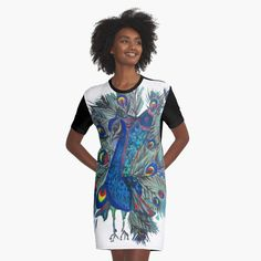 'Rainbow Bubbles' Graphic T-Shirt Dress by cookiesartsy High Street Fashion, 90s Fashion, Street Style, Ethnic Fashion, Streetwear Mode, Streetwear Fashion, Cute Casual Outfits, Chic Outfits, Jingle Dress Dancer