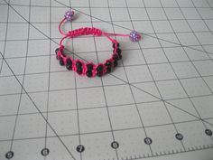 BRACELET MADE OF PEARLS AND NYLON THREAD !!!