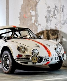 Renault Alpine A110. My god, does it look good in white!