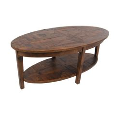 Alaterre Heritage Reclaimed Wood Oval Coffee Table - Overstock™ Shopping - Great Deals on Alaterre Coffee, Sofa & End Tables