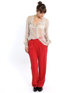 Isabel Marant Omer Wide Trouser