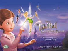 Tinkerbell and the Great Fairy Rescue movie 3