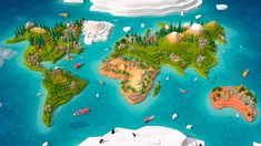 cartoon low poly earth world map 2 model low-poly obj fbx mtl pdf 1 World Map Game, Earth World Map, Earth Texture, Polygon Modeling, World Map Design, Map Games, Low Poly 3d Models, Texture Mapping, 3d Assets