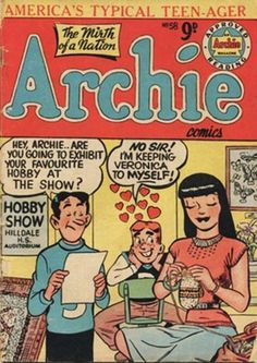 Cover for Archie (1950 ? series) #58