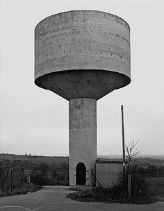 Bernd & Hilla Becher, Water Tower, Flockton, UK, 1997