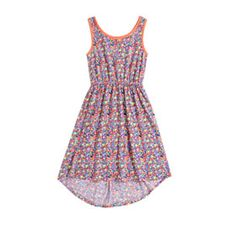 Mother,Daughter Bonding Day? Dont let her miss out and dress her in this ditsy hi-lo dress!