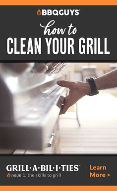 Cleaning your grill may not be as fun as cooking on it, but regular upkeep is crucial for extending its lifespan as long as possible. Clean Grill, Bbq Grill, Grilling Tips, Cooking On The Grill, Learning Centers, Outdoor Cooking, No Cook Meals, Good Things, Cleaning