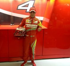 Felipe Massa :Special racing suit