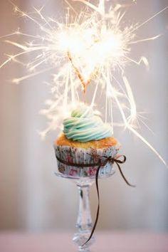 #sparklers #cupcake