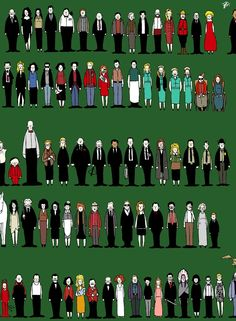 Twin Peaks Characters by Sit-by-Me-and-sea on deviantART