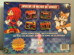 Sonic Classic Collection box behind.